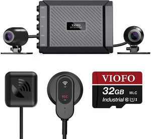 MT1 DUAL CHANNEL 1080P MOTORCYCLE DASH CAM