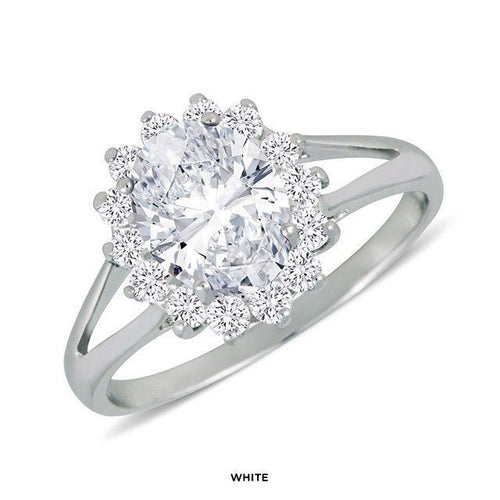 Elegant Cluster Ring - FrouFrou Couture