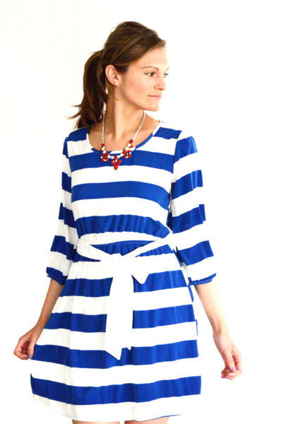 Boat Neck Skater Dress