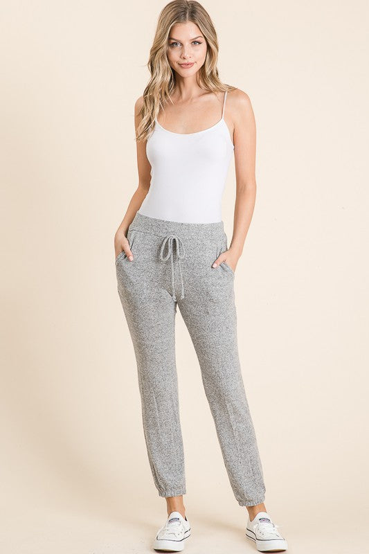 Tiger Brush Jogger with Pockets - FrouFrou Couture