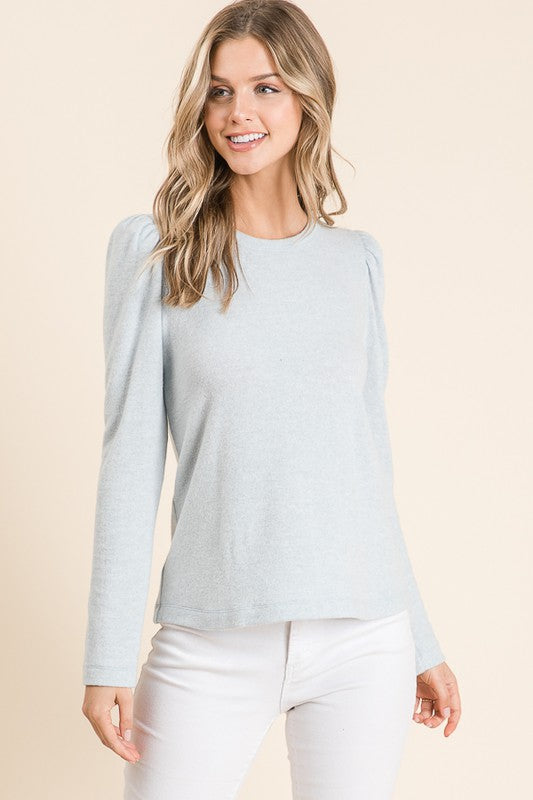 Puff Shoulder Top - FrouFrou Couture