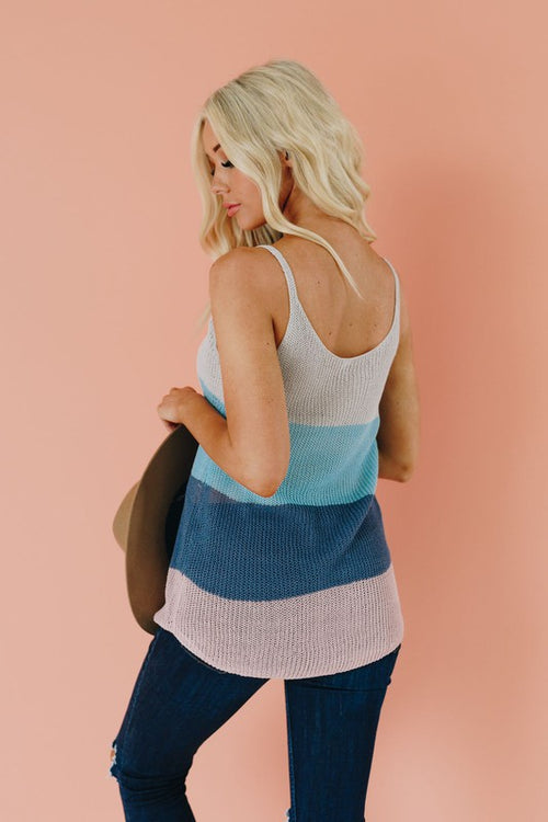 KNIT CAMI LOOSE TANK