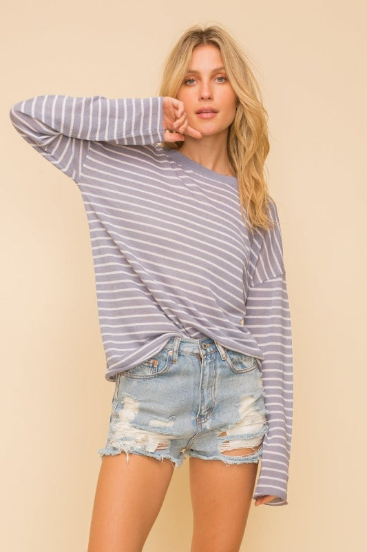 Oversized Sweater Top - FrouFrou Couture