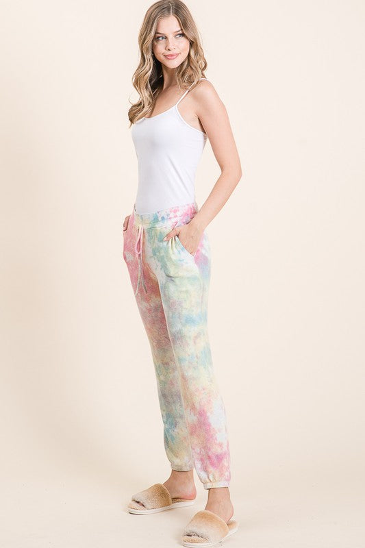 Super Soft Tie Dye Jogger with Pockets - FrouFrou Couture