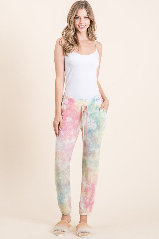 Super Soft Tie Dye Jogger with Pockets