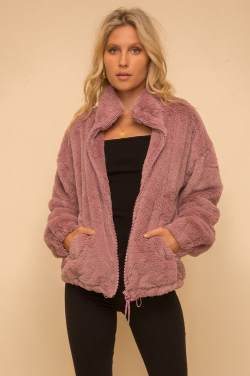 Faux Fur Oversize Jacket