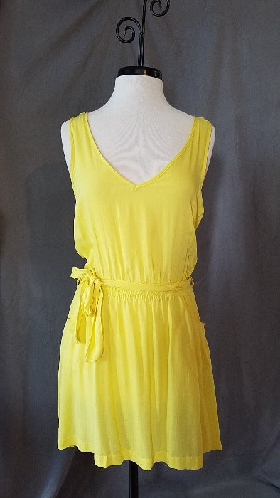 Yellow Beach Dress - FrouFrou Couture