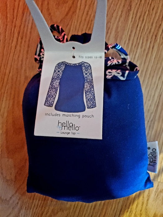 Hello Mello Lounge Wear - NAVY - FrouFrou Couture