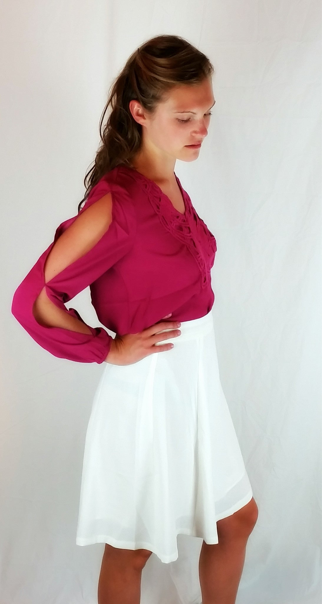 High Waisted Skirt - FrouFrou Couture