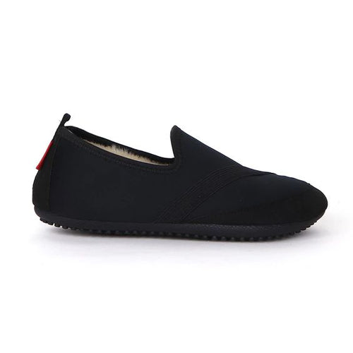 KOZIKICKS BLACK SLIPPERS - womens - FrouFrou Couture
