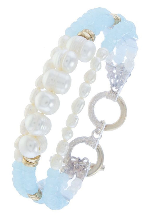 Freshwater Pearl Beaded Bracelet - FrouFrou Couture
