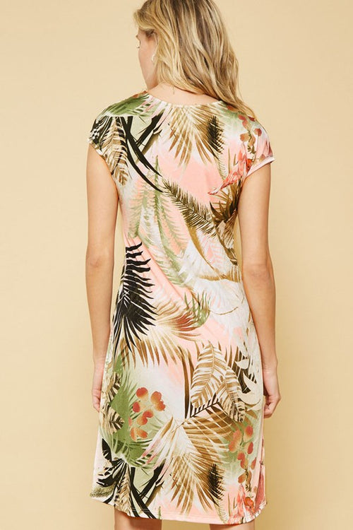 Tropical Knit Dress - FrouFrou Couture