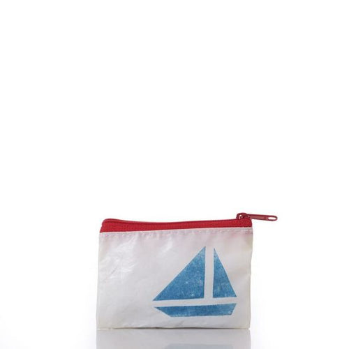 Sailboat Change Purse - FrouFrou Couture