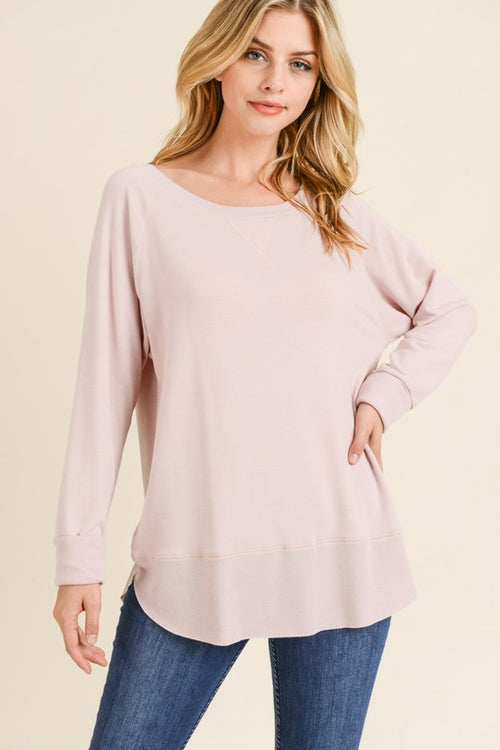 Pink Pullover Sweater - HD110 - FrouFrou Couture
