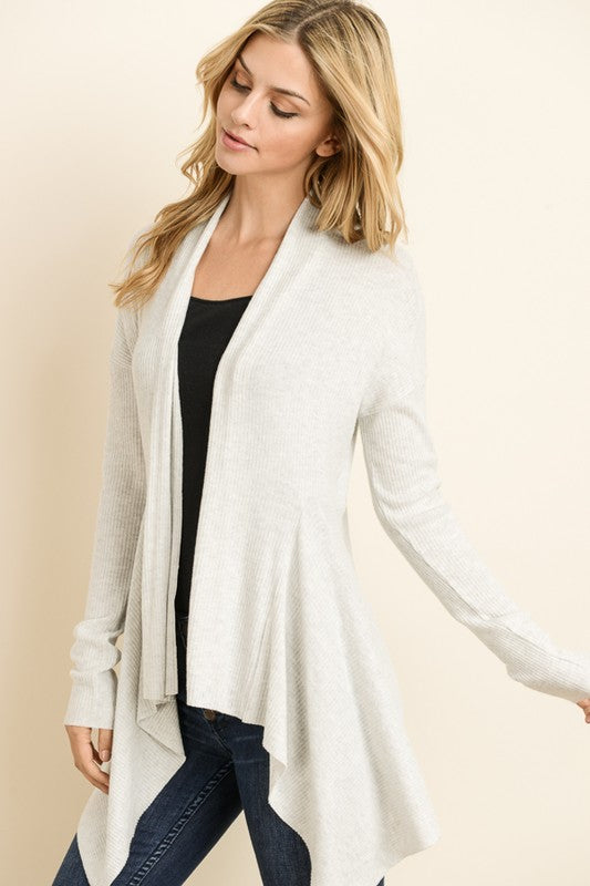 Tiger Brush Open Cardigan - FrouFrou Couture