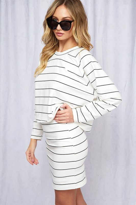 Essential Striped Cotton Top