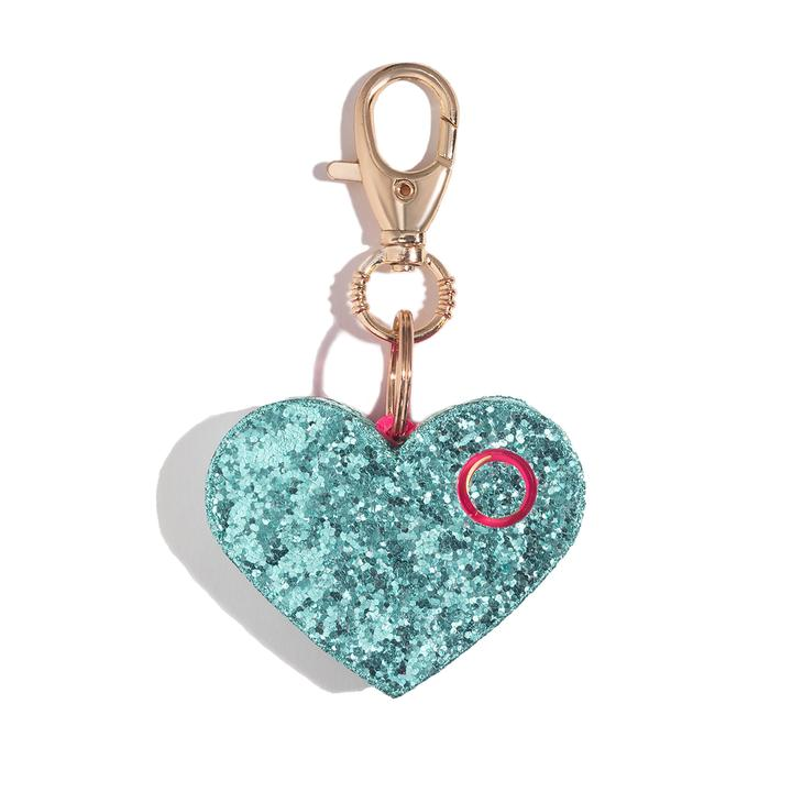 Heart Rhinestone Personal Alarm with LED
