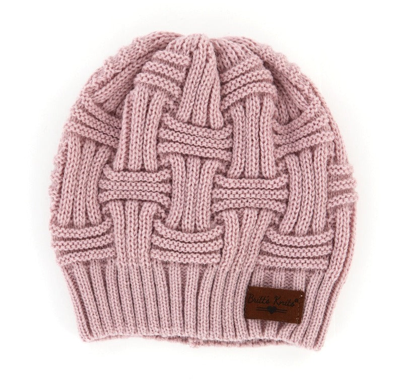 Classic Knit Beanie - FrouFrou Couture