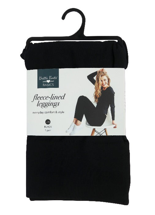 Fleece-lined Leggings - FrouFrou Couture