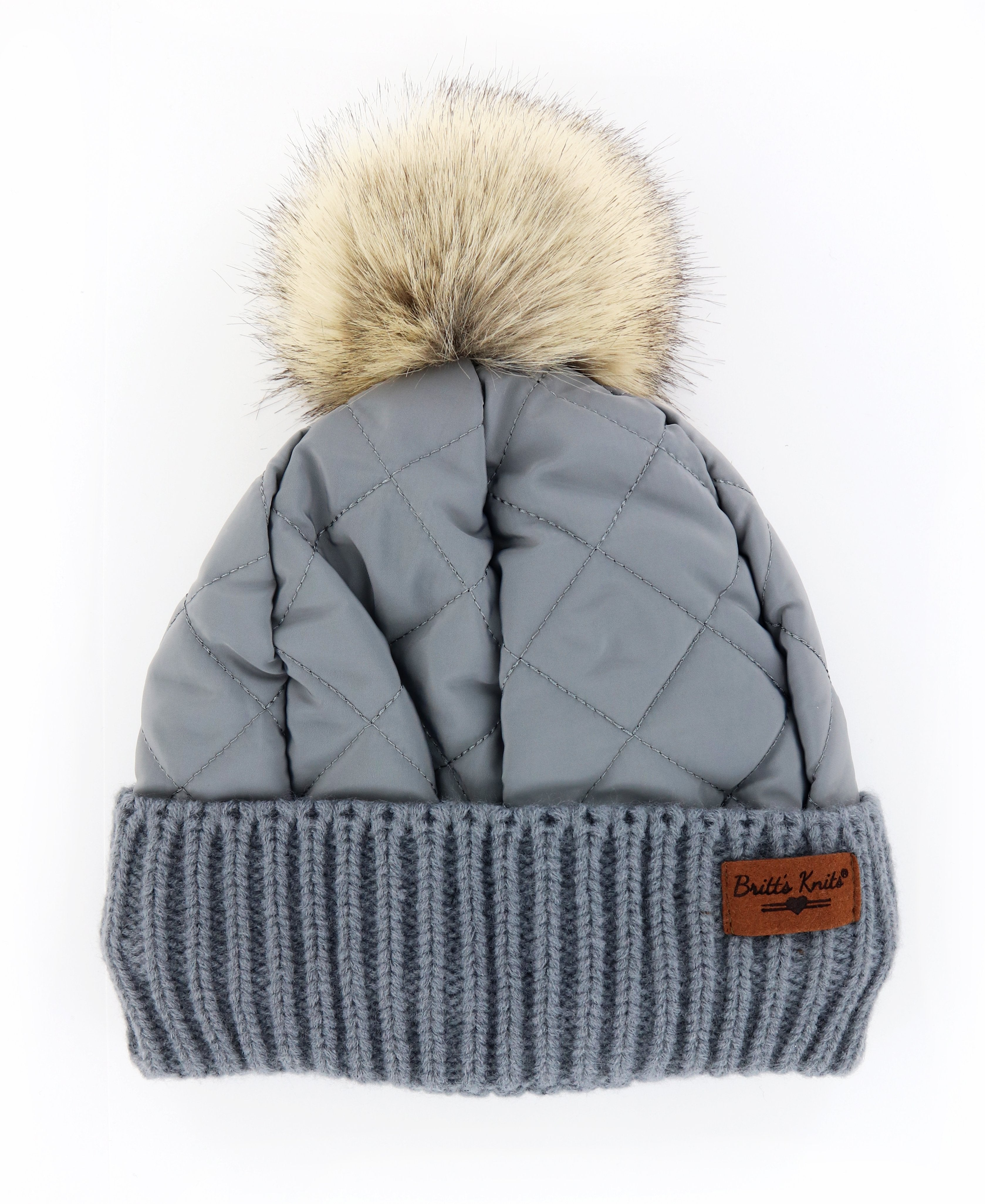 Quilted Puffer Hat - FrouFrou Couture