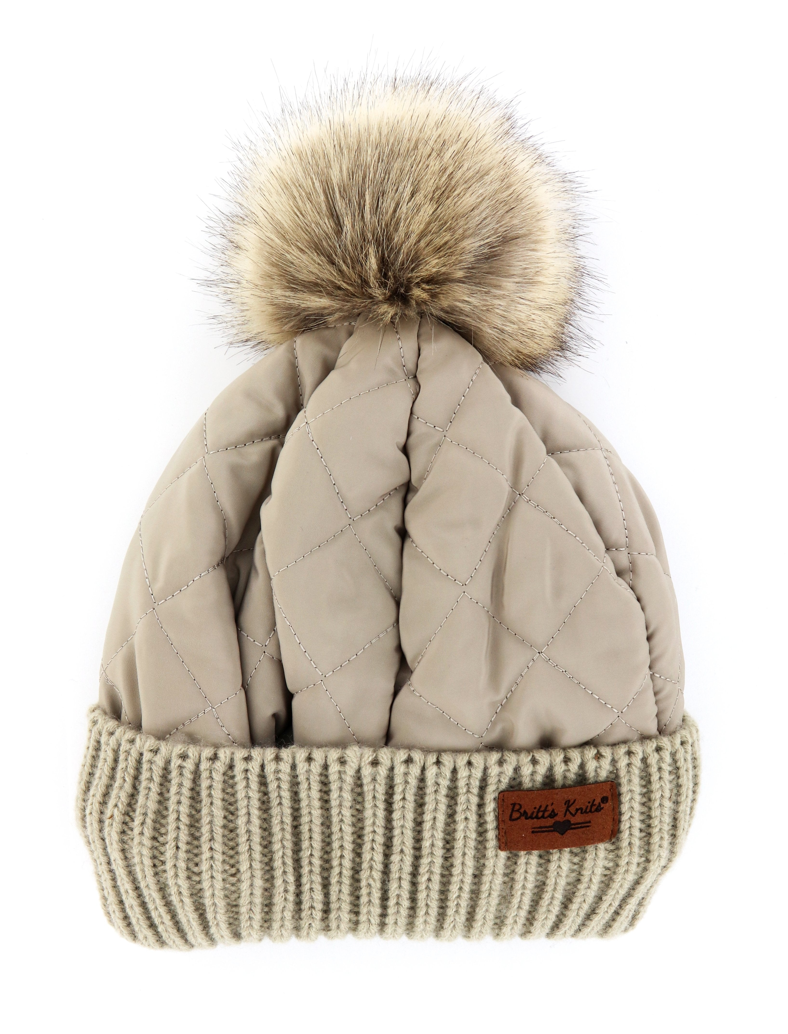 Quilted Puffer Hat