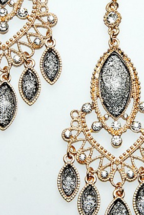 Chandelier Earring Set - FrouFrou Couture