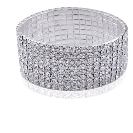 Crystal Tennis Bracelet - FrouFrou Couture