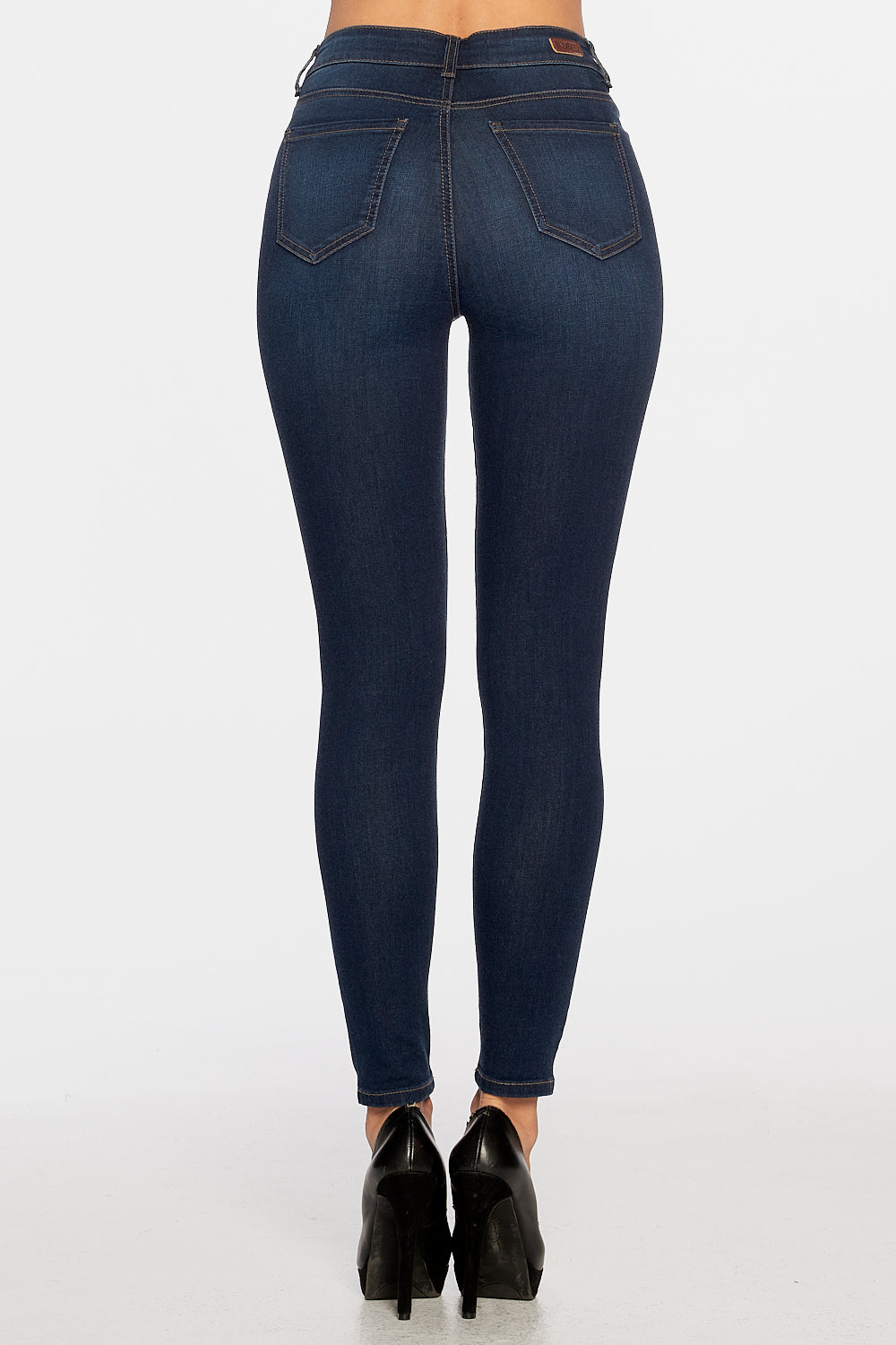 High-Rise Ankle Skinny Classic Denim - EP3198