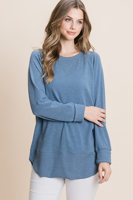 Blue Stone Pullover Sweater - HD110