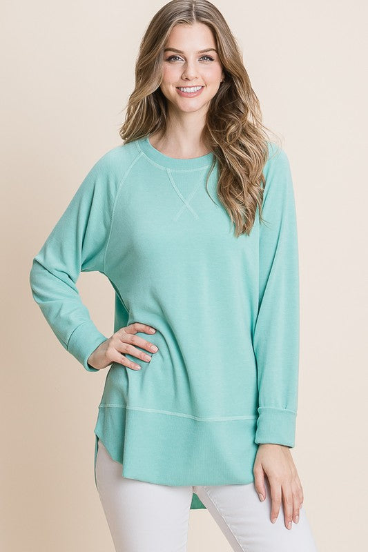 Mint Pullover Sweater - HD110