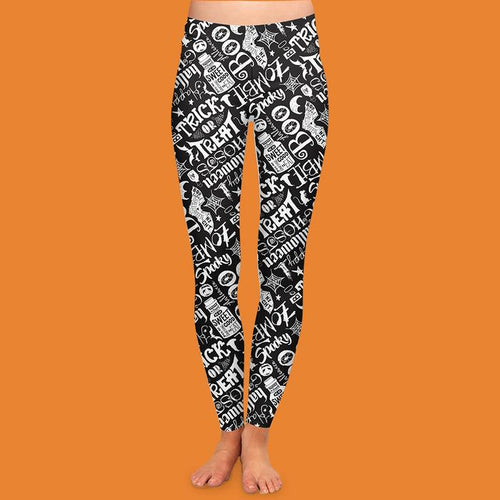 Halloween Leggings - FrouFrou Couture