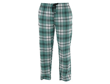 classic style, lightweight and breathable green plaid lounge pants.