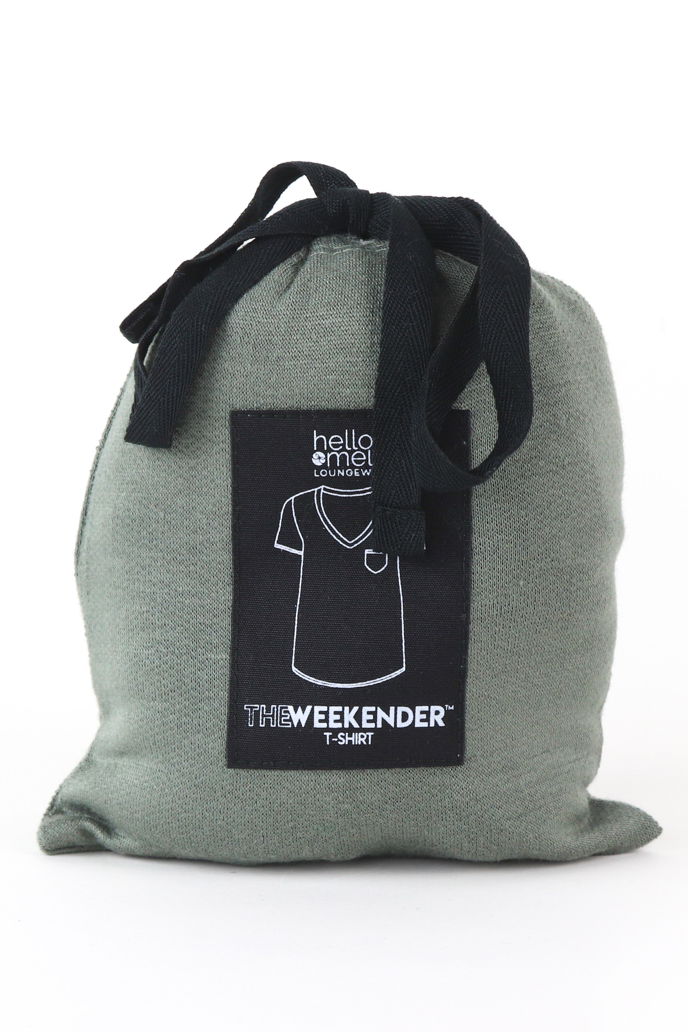 Navy Weekender Short Sleeve Tee