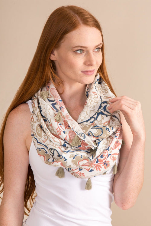 Aphrodite Infinity Scarf - FrouFrou Couture
