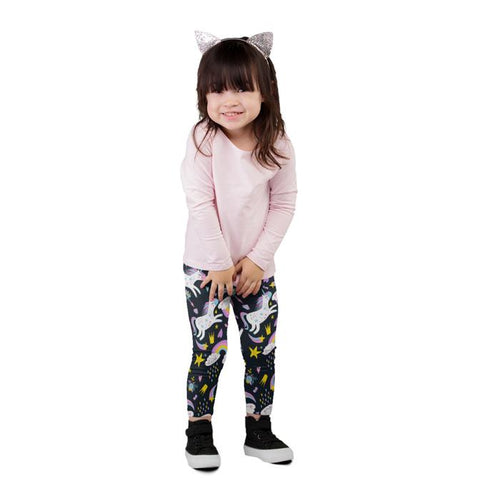 Mystical Unicorn Kids Everyday Leggings