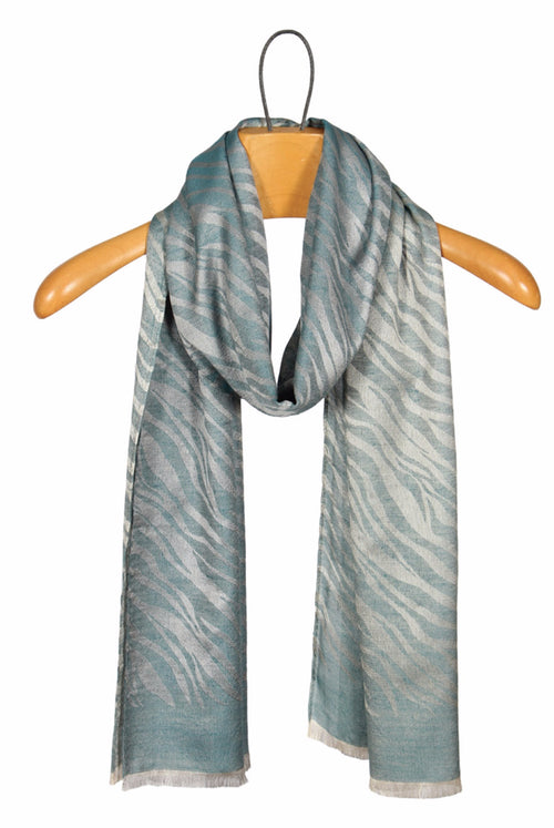 Zebra Print Scarf - FrouFrou Couture