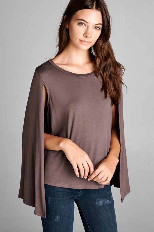 Cape-Sleeve Top - FrouFrou Couture