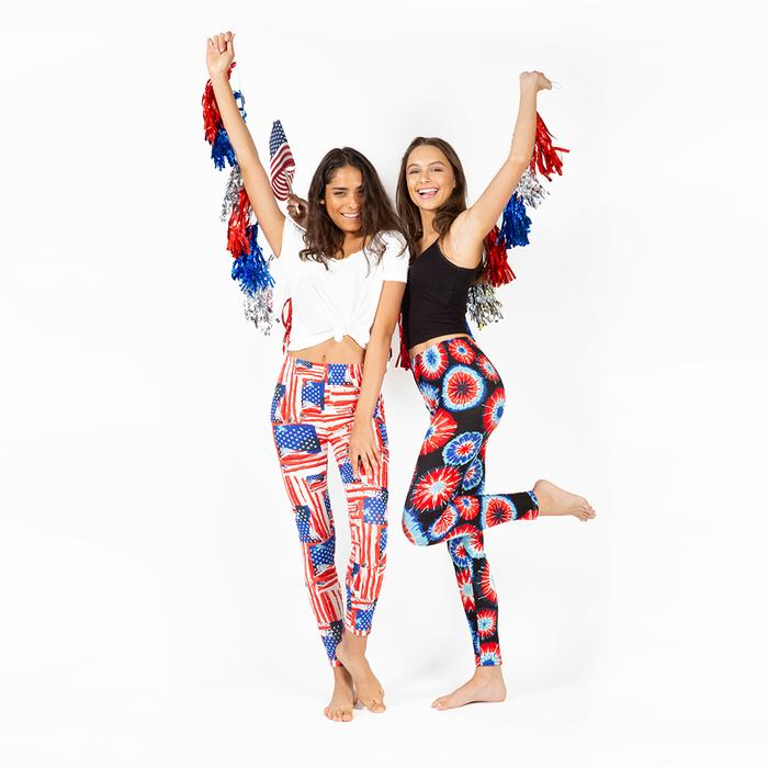 Firecracker Women's USA Leggings