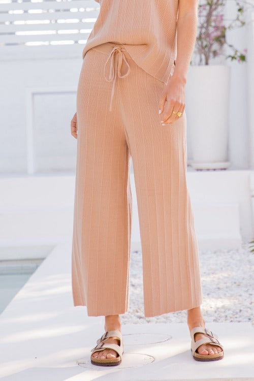 Sweater Crop Pants - FrouFrou Couture