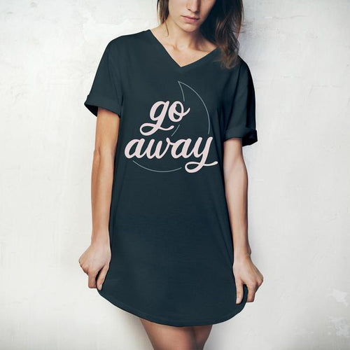 Go Away Sleep Shirt - FrouFrou Couture