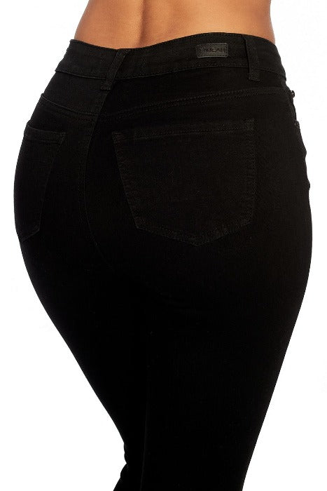 Black High Rise Denim - EP3105