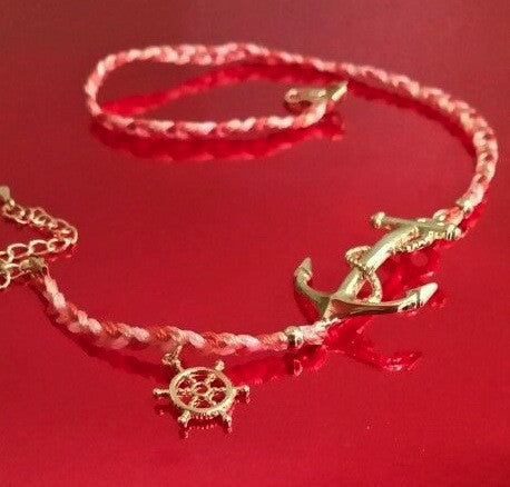 Rope Anchor Bracelet - FrouFrou Couture