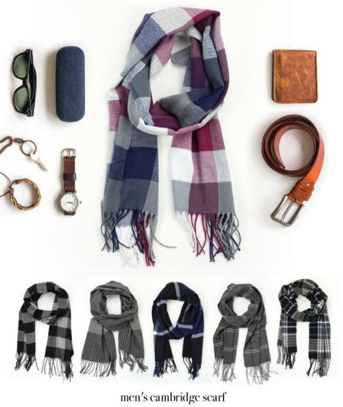 Men's Cambridge Scarf - FrouFrou Couture