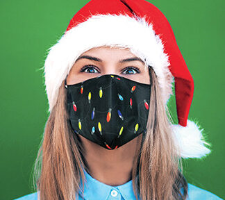 Care Cover™ Protective Masks - Merry & Bright Collection  Designer Defense For Everyone