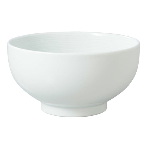 WHITE PORCELAIN DONBURI BOWL