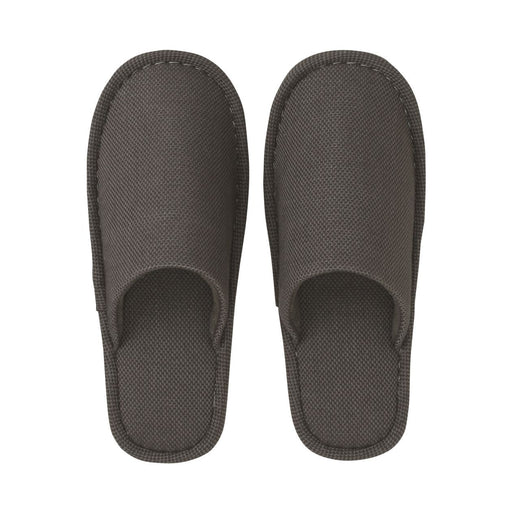MUJI COTTON BASKET WEAVE EVA SOLE SLIPPER
