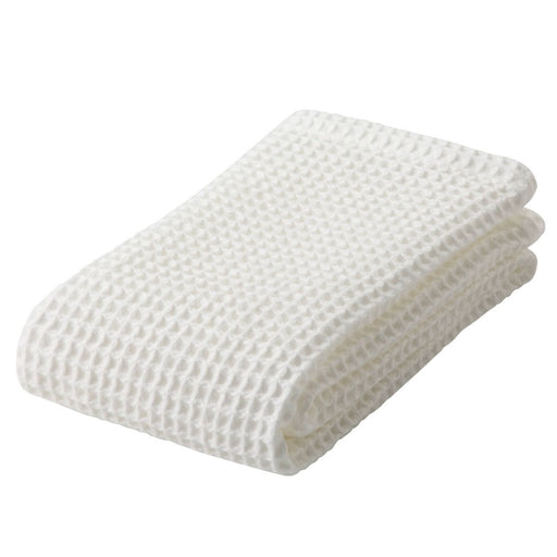 ORGANIC COTTON WAFFLE FACE TOWEL