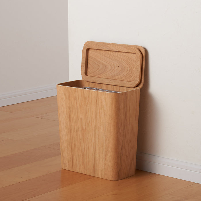 Dust Bin with Wire Frame (Square)