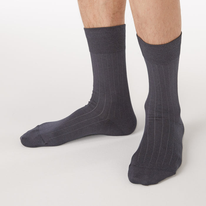 GOOD FIT RIGHT ANGLE STRIPE BUSINESS SOCKS