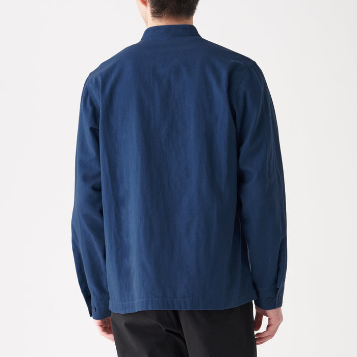 Men's Indian Cotton Indigo Shirt